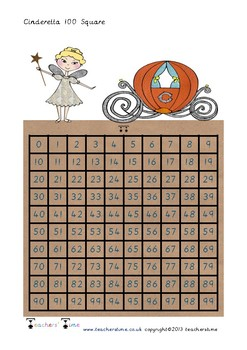 Cinderella 100 Square