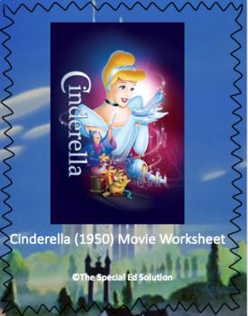 Cinderella (1950) Movie Worksheet