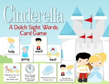 Cinderella:  A Sight Words Card Game With All 220 Sight Words!
