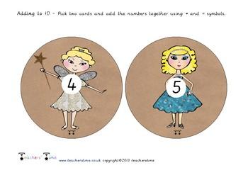 Cinderella Adding to 10