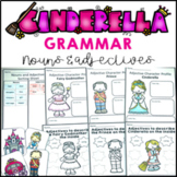 Grammar Pack Cinderella Nouns and Adjectives Activities, Game, Word Search