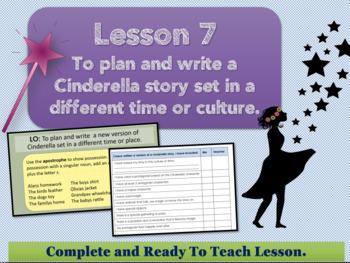 Cinderella Around The World - Lesson 7 -Plan and write an alternative Cinderella
