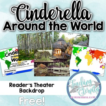 Cinderella Around The World - Reader's Theater Backdrop