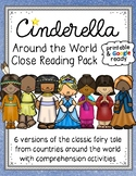 Cinderella Around the World Close Reading Passages, Organizers, and Questions