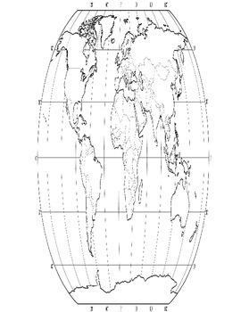 Cinderella Around the World Map