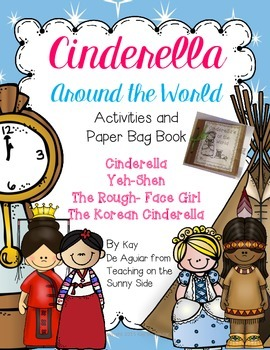 Cinderella Around the World Paper Bag Book and More