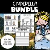Cinderella BUNDLE Finger Puppets, Retelling, Graphic Organizers