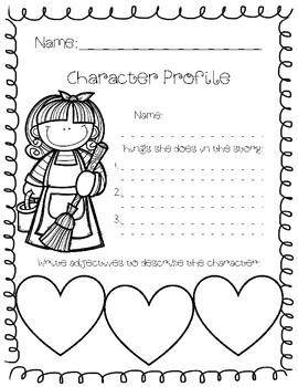 Cinderella Story Elements Booklet