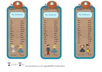 Cinderella Bookmarks