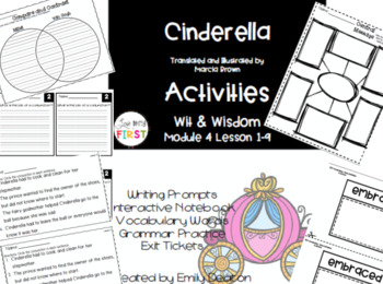Cinderella Bundle Wit and Wisdom Lesson 1-9