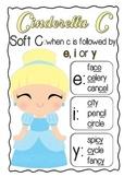 Cinderella C - soft 'c' spelling rule poster