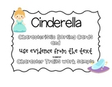 CCSS Cinderella Characteristics Sort & Character Trait Graphic Organizer