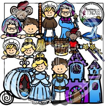 Cinderella Clipart Bundle