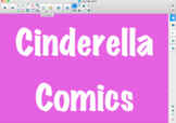 Cinderella Commic Lesson Slide Show (Notebook Software and PDF)