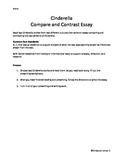 Cinderella: Compare & Contrast 2 Cinderella Stories: Common Core