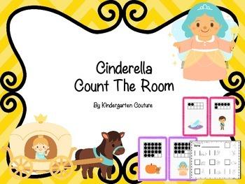 Cinderella Count The Room -Ten Frames