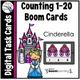 Cinderella Counting 1 - 20 Boom Cards