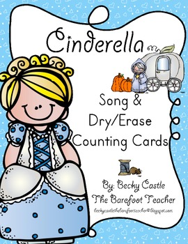 Cinderella Dry/Erase Counting Cards for numbers 1-20 - 40