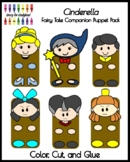 Cinderella Fairy Tale Craft Activity: Puppet Pack for Retelling