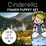Cinderella Fairy Tale Finger Puppet Retelling Set