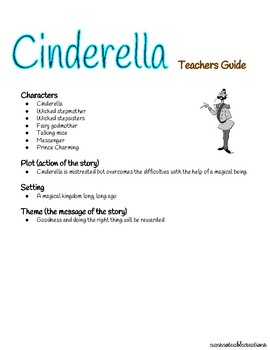 Cinderella Fairy Tale Unit