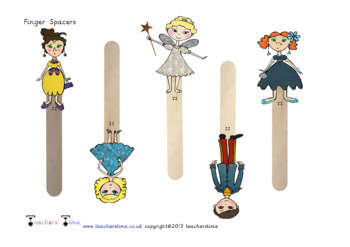 Cinderella Finger Space Prompts