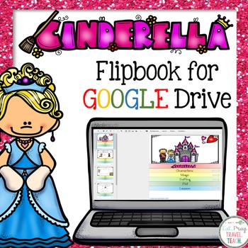 Cinderella Flip Book for Google Drive
