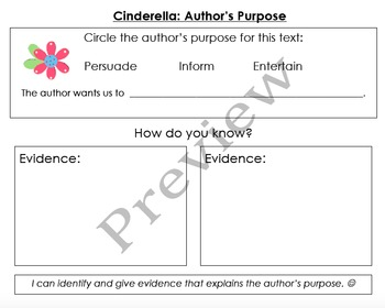Cinderella Graphic Organizers & Writing Activities (Reading Street 4.2)