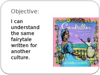 Cinderella Guidebook Unit: Cendrillon Day 1-4 presentation