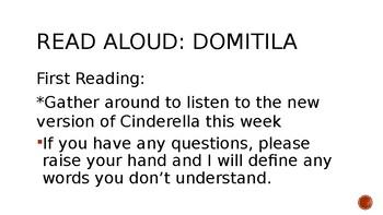 Cinderella Guidebook Unit: Domitila Day 1-4 Presentation