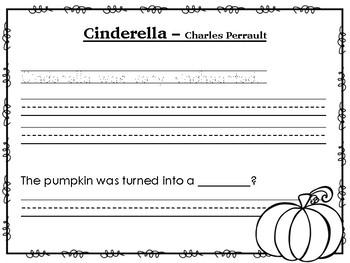 Cinderella Handwriting Practice