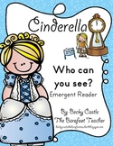 "Cinderella ""I Can See..."" Emergent Reader Book - 12 pages"