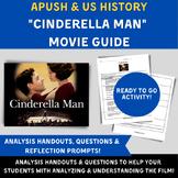 Cinderella Man film analysis worksheet