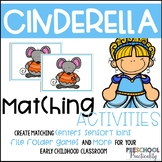 Cinderella Matching Activities for Toddlers, Preschool, and PreK