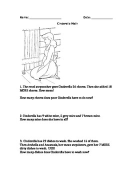Cinderella Math: Grade 2 Word Problems