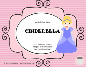 Cinderella Movie Follow Along Worksheet Movie Guide