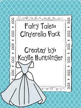 Cinderella Literacy Pack