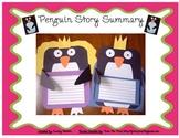 Cinderella Penguin Story Summary Craftivity (Use pattern w