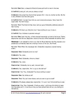 Cinderella Play Script
