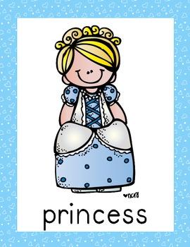 Cinderella Posters (10 total) & Corresponding Writing Activity