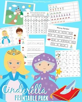 Cinderella Pre K - K Printable Pack