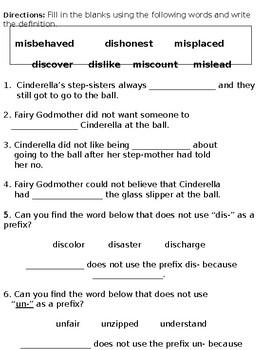 Cinderella Pronouns