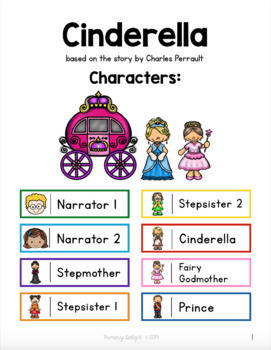 Cinderella Readers' Theater