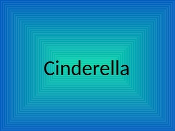 Cinderella- Reading Street Unit 4/Volume 1