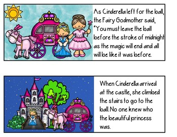 Cinderella (Retelling Cards and Student Books)