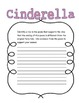 Cinderella Revolting Rhyme Poems Close Reading Questions