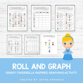Disney Inspired Cinderella Roll and Graph Activity