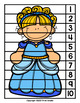 Cinderella (Fairy Tale) Skip Counting Number Puzzles