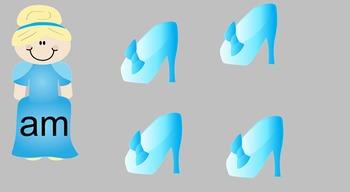 Cinderella Slipper Sight Words