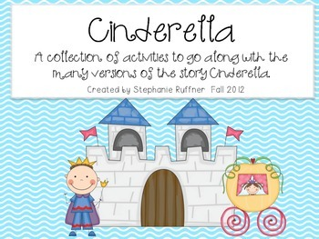 Cinderella Stories - Literacy FUN!